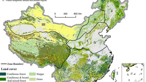 Risk and contributing factors of ecosystem shifts over naturally vegetated land under climate change in China