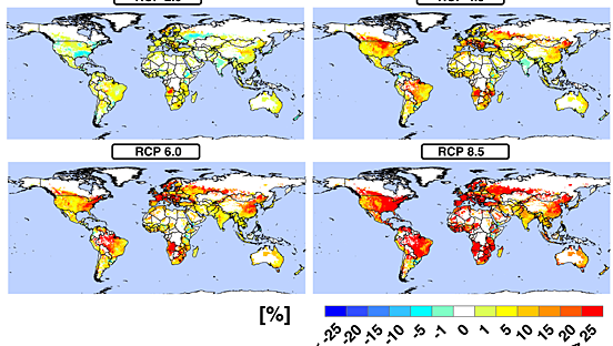 Multimodel projections and uncertainties of irrigation water demand under climate change