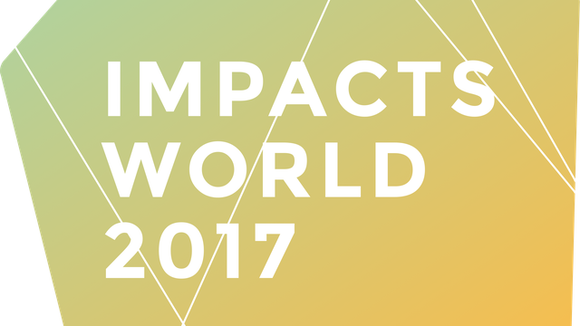 Impacts World 2017 call for abstracts closes soon!
